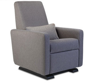 Monte Design Grano with Premium Wool Fabric and Espresso Base