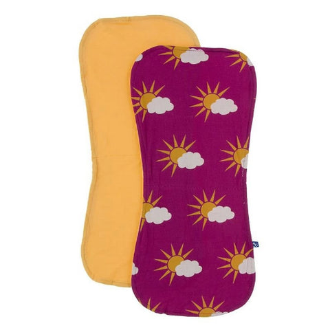 Kickee Pants Burp Cloth Set