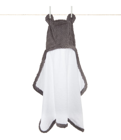 Little Giraffe Luxe Twist Hooded Towel