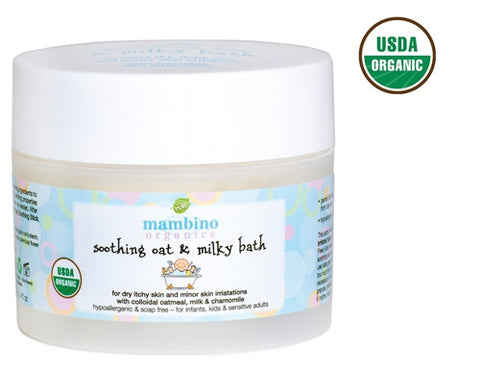 Mambino Organics Soothing Oat And Milky Bath