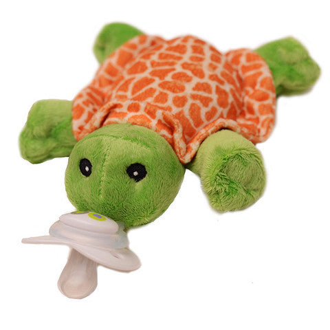 Nookums Paci-Plushies® Shakies Tickles the Turtle