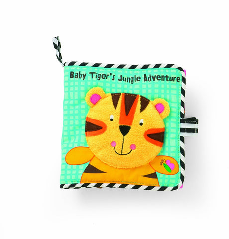 Manhattan Toy Tiger's Jungle Adventure Book