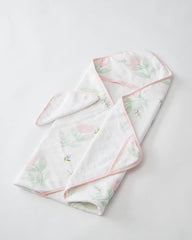 Little Unicorn Cotton Hooded Towels
