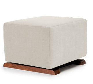 monte Design Vola Ottoman Natural Cotton / Linen Fabric