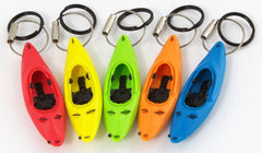 Keyak Key Chain - White Water SET of 5