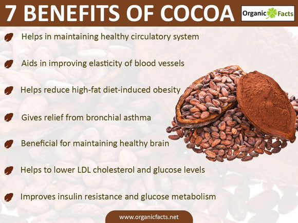 Drinking Chocolate, Raw Cacao nibs & Gourmet Cocoa for Health