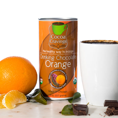 Orange Drinking Cocoa
