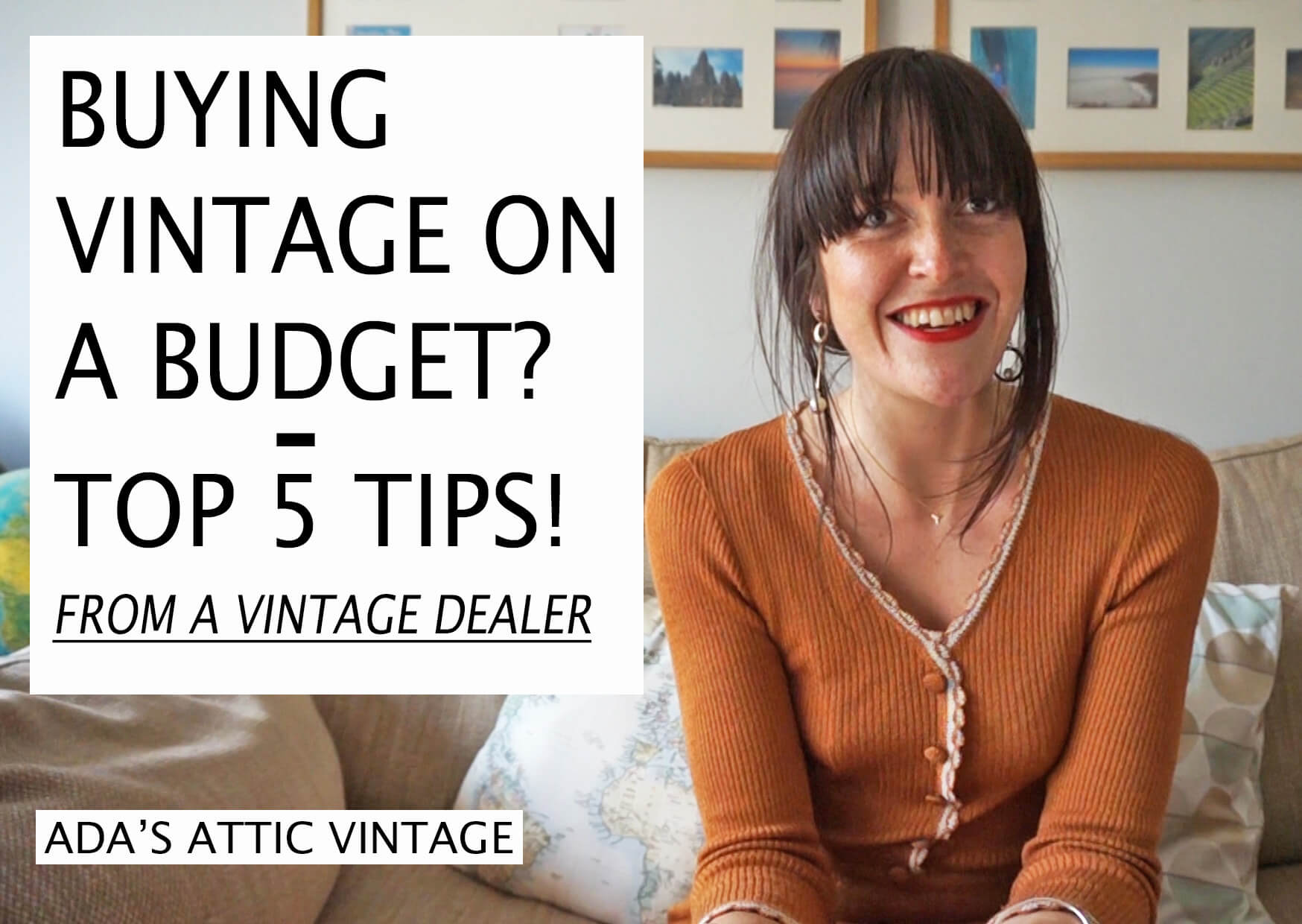 Buying Vintage On A Budget - Top 5 Tips.