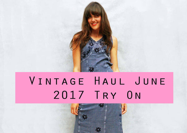 Vintage Haul Try On Video