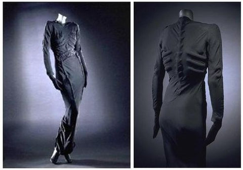 elsa schiaparelli skeleton dress