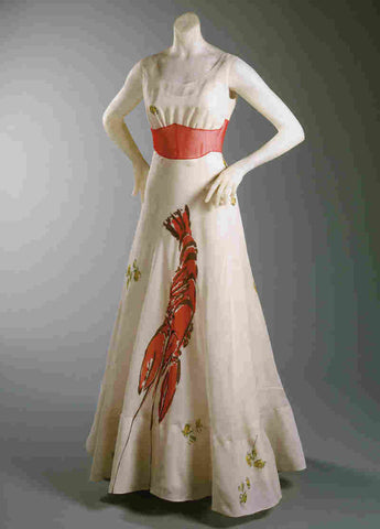elsa schiaparelli lobster dress