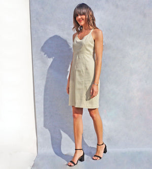 90s Georges Rech Vintage Slip Dress - Ada's Attic Vintage - 6