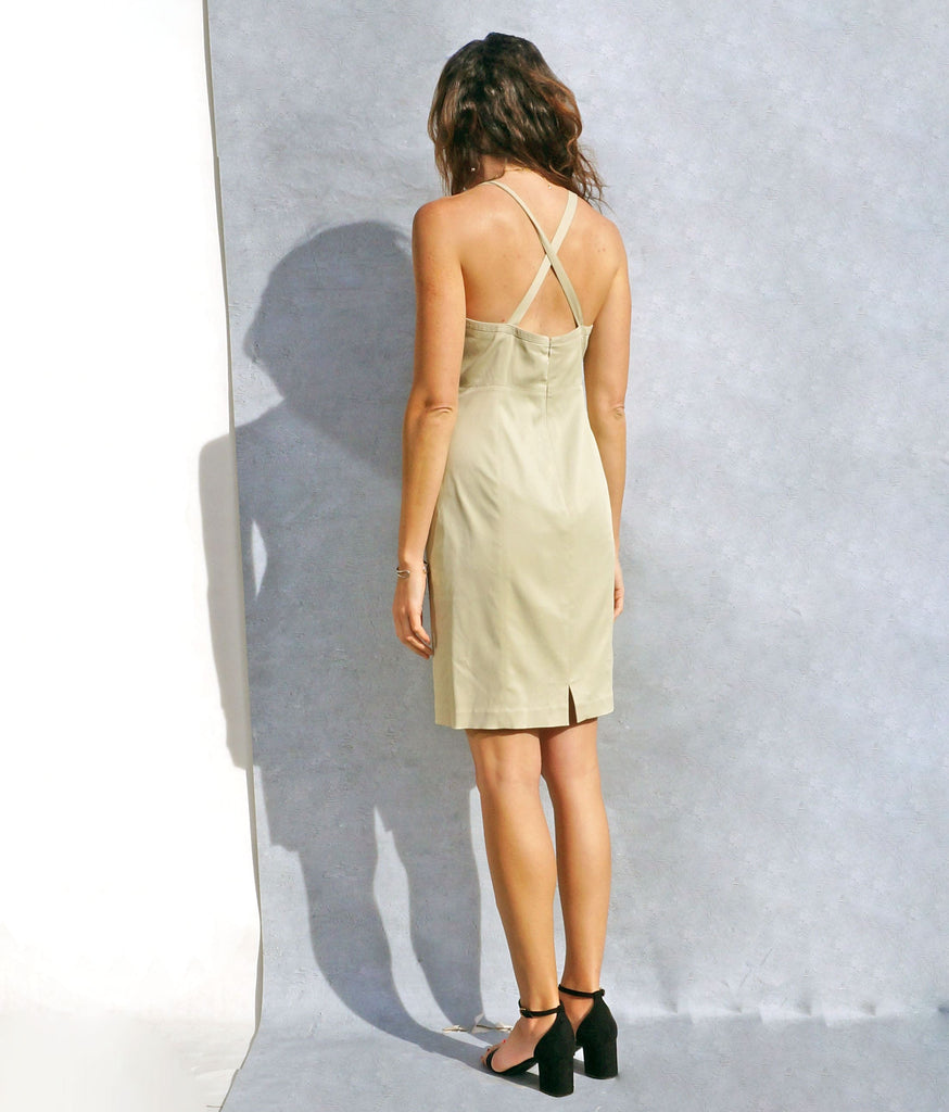 90s Georges Rech Vintage Slip Dress - Ada's Attic Vintage - 4