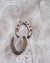 1935 Silver Good Luck Wedding Horseshoe - Ada's Attic Vintage - 2