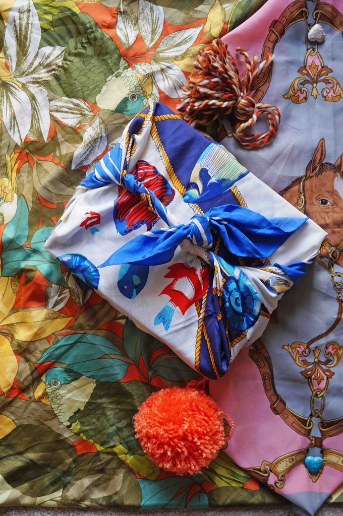 Paperless Gift Wrap - Eco Gift Wrap - Ada's Attic Vintage -