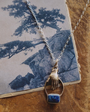 FLK # 119 Single Hand Necklace