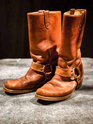 Vintage Harness Boots