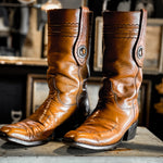 Vintage Lucchese Boots w/Conch