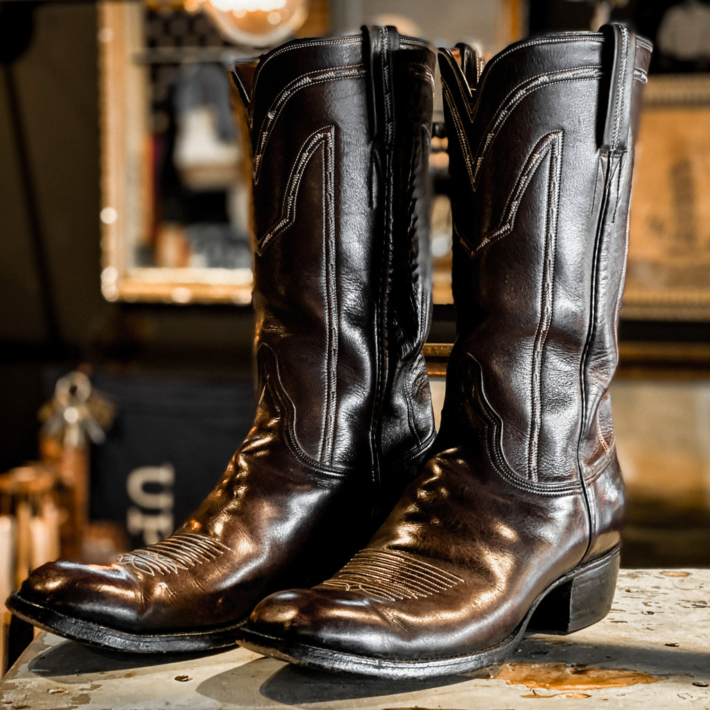 Vintage Lucchese Brown Boots