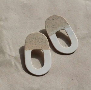 White Sand Earrings