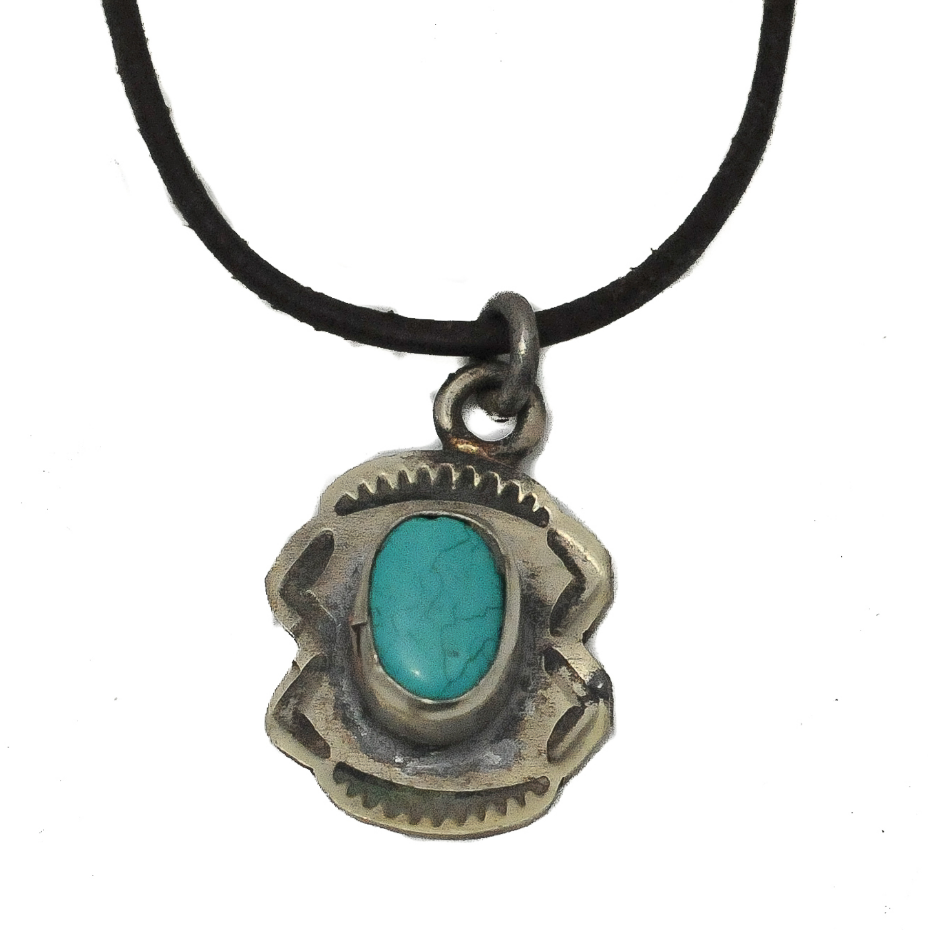 Sm Pendant W/Turquoise Nº2