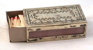Large Stamped Matchbox