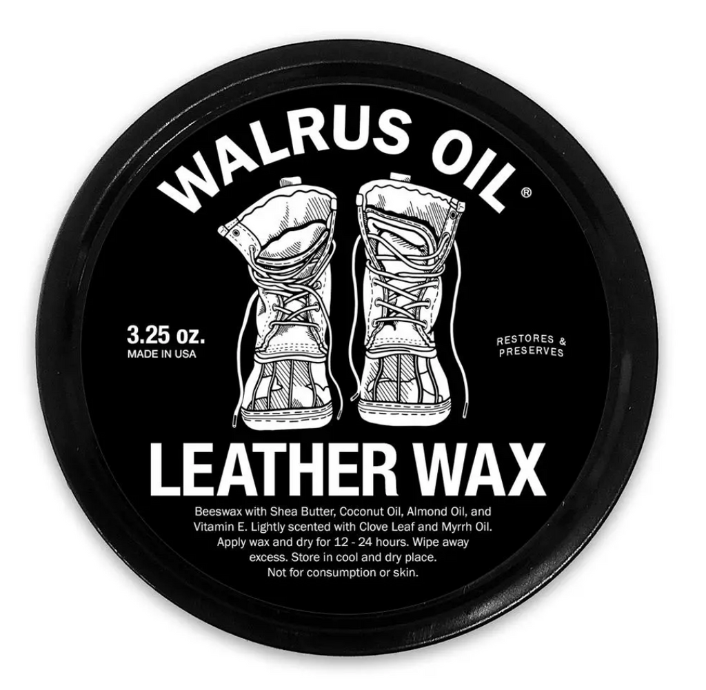 Walrus Oil Boot Wax