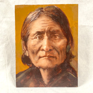 Vintage Geronimo Painting