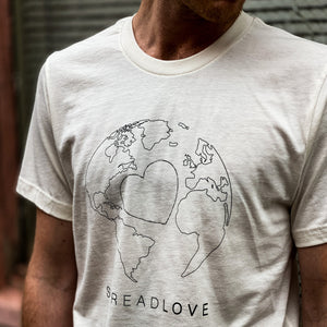 "SPREAD LOVE ""Globe"" Tee"
