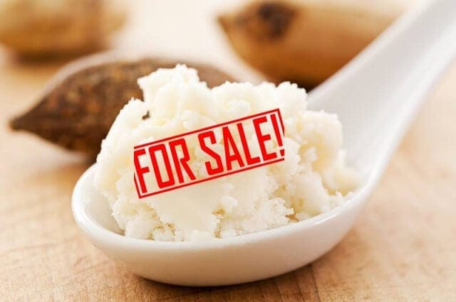 Pure Shea butter for sale