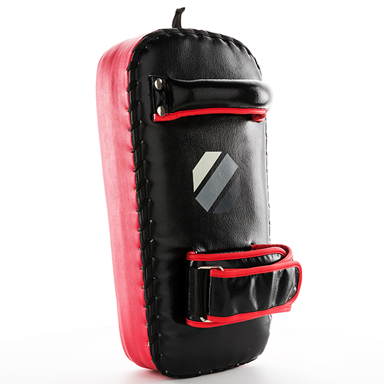 Sturdy ergonomic grip bar on top with adjustable forearm strap ensures proper form and keeps trainer comfortable