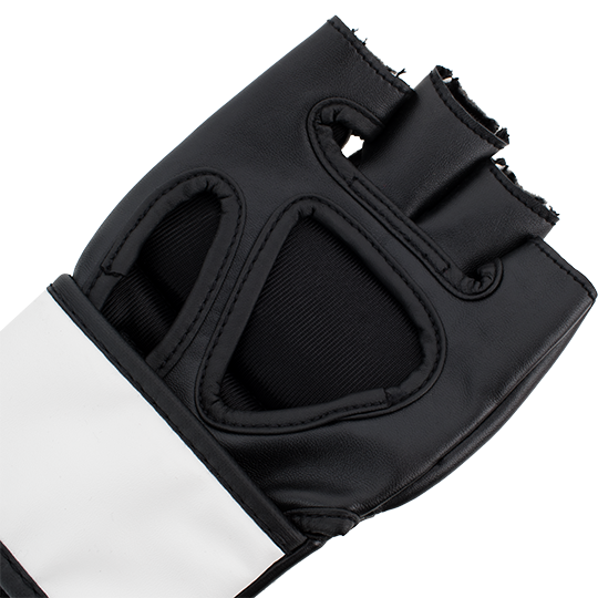 Moisture-wicking soft inner lining keeps athletes' hands comfortable and dry