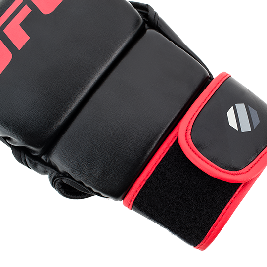 Adjustable wrap-around hook and loop closure offers a comfortable fit and supports athletes' wrists