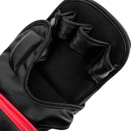 Comfortable finger compartments keep glove in place without hindering mobility