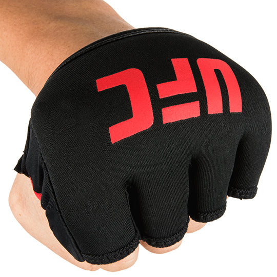 Can be worn quickly in addition to hand wraps or alone with boxing gloves to add an extra layer of protection.