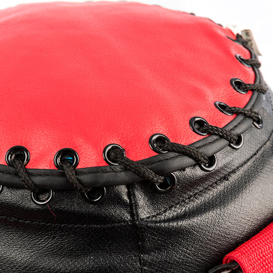 Steel grommets with lace up opening for easy refill.