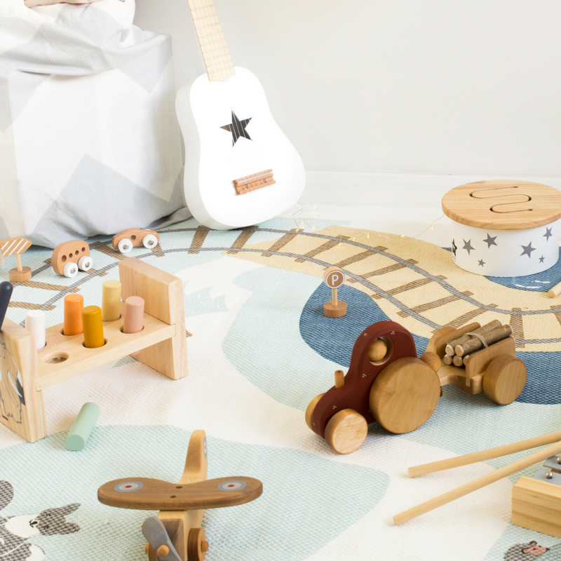 The Best of Christmas - A wooden toy wonderland!