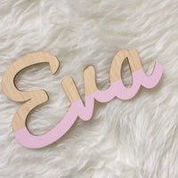 Custom Made Bamboo Name & Words - Wiggles Piggles  - 6