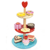 Le Toy Van Cake Stand Set - Wiggles Piggles  - 1