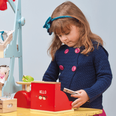 Le Toy Van Cash Register - Wiggles Piggles  - 3