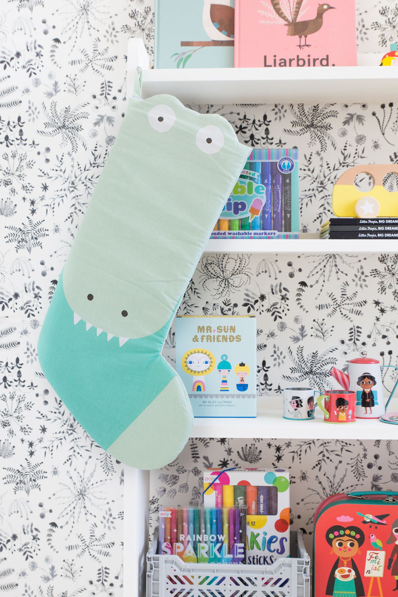 Wiggles Piggles x Philip Bunting Christmas Stocking (Crocodile)