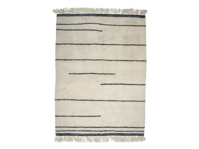 Bloomingville Wool Grey Rug