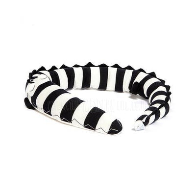 Bloomingville Mini Bed Bumper - Monochrome Alligator