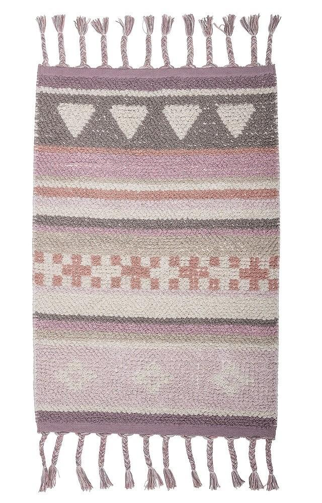 Bloomingville Mini Cotton Rug - Rose