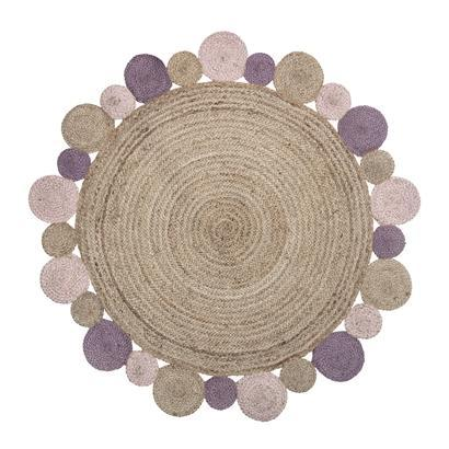 Bloomingville Mini Jute Rug (Rose)