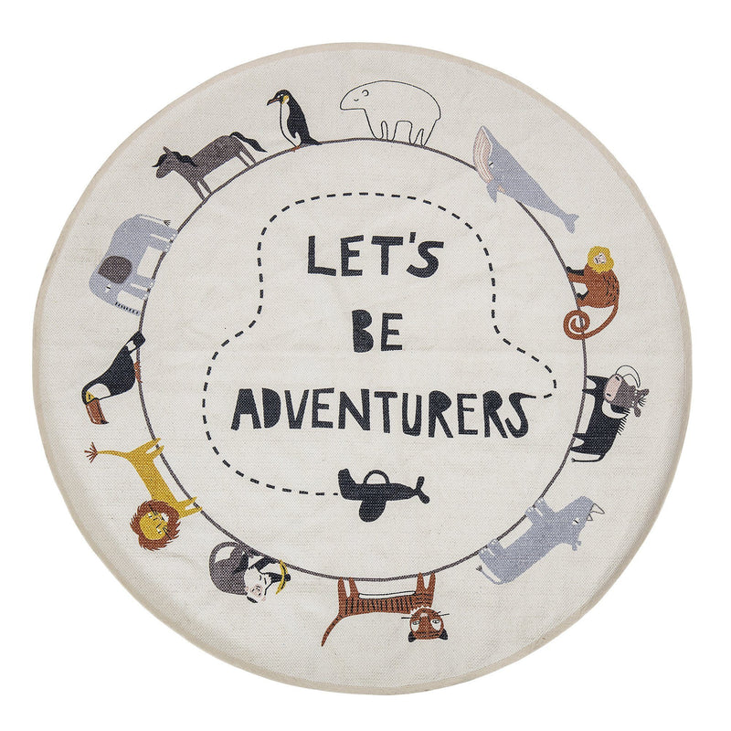 Bloomingville Mini Lets Be Adventurers Rug