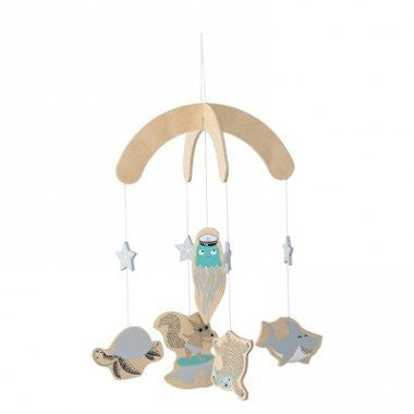 Bloomingville Mini Sea Adventure Mobile - Blue