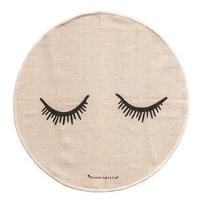 Bloomingville Mini Sleepy Eyes Rug