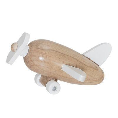 Bloomingville Mini Toy Plane (Nature/Lotus)