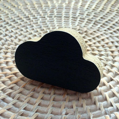 Cloud Wall Hook - Black - Wiggles Piggles  - 2